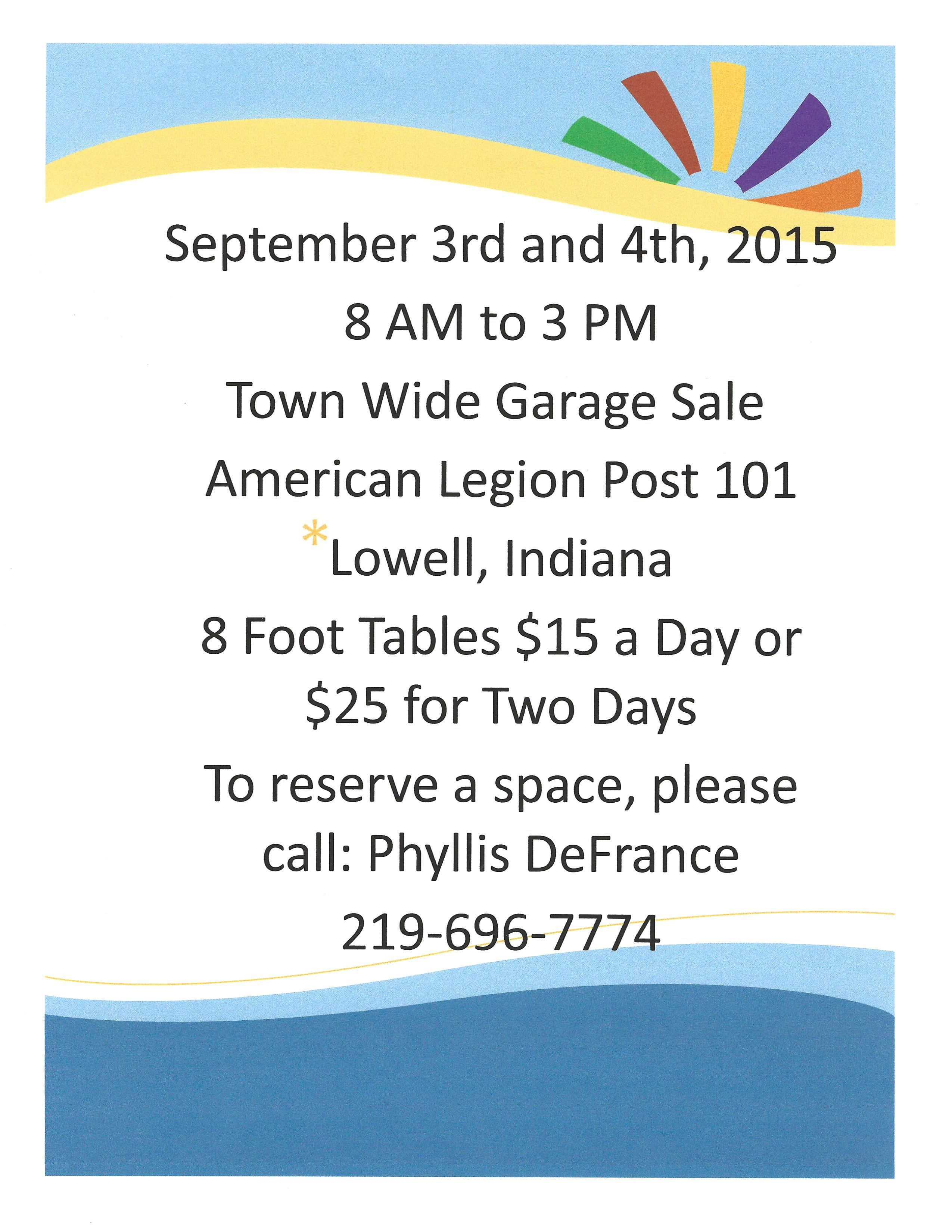 garage sale flyer lowellinchamber